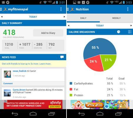 Calorie-Counter-MyFitnessPal-android-app