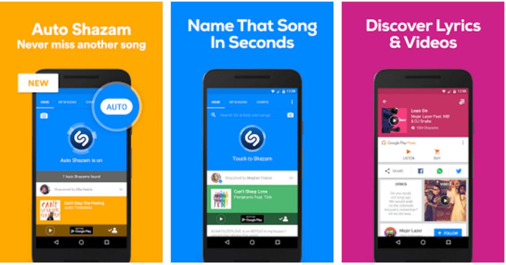 shazam best music app
