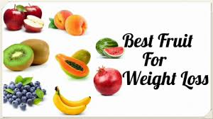 Fruits that help in weight loss