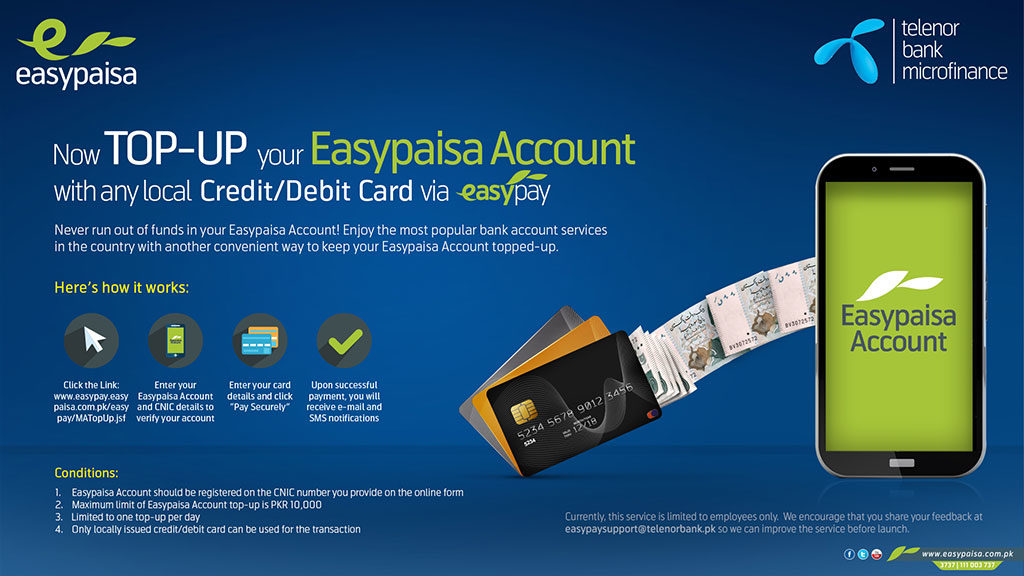 how to use an easy paisa account?