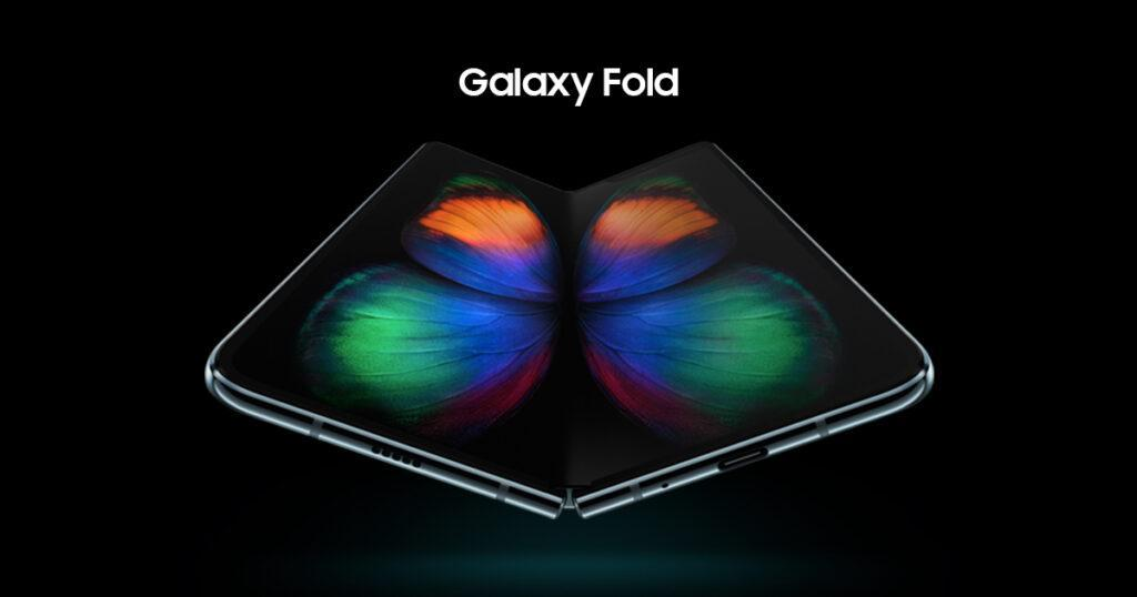 Samsung galaxy fold mobile