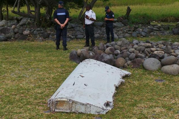 MH370 fragments