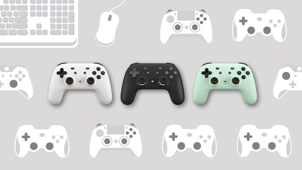 Stadia Controllers