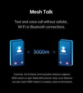 Oppo Mesh Talk