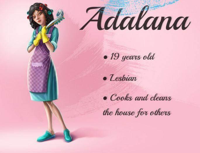 Adalana's personality