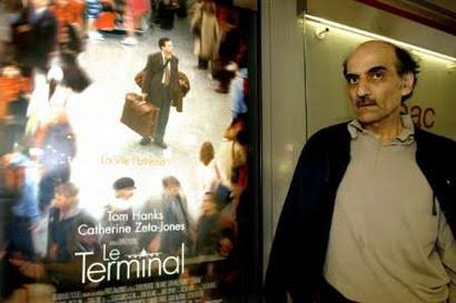 Mehran Karimi Nasiri story in movie The terminal