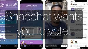 snapchat vote app