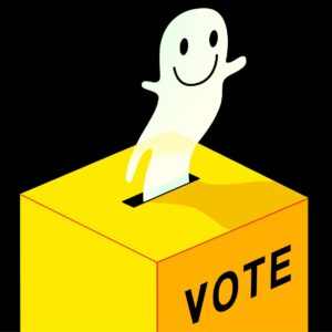 snapchat vote for elections