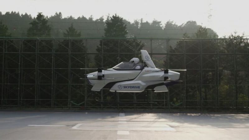 Flying cars skydrive