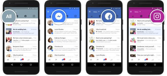 instagram messaging with facebook messenger