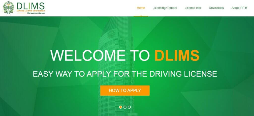dlmis - Apply online for driving license