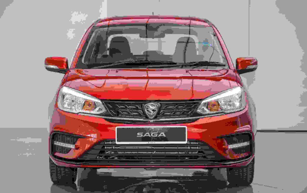 Proton Saga car