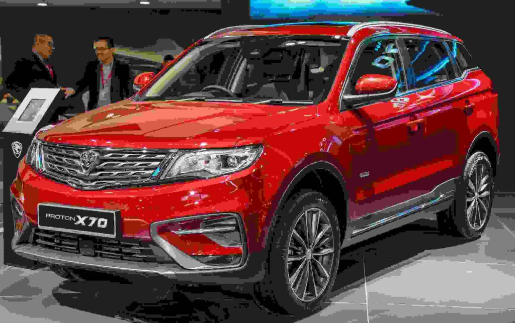Proton X70 Premium suv car