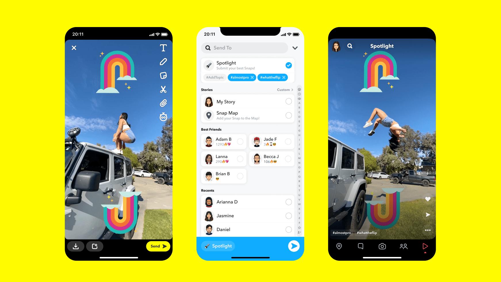 Snapchat-Spotlight