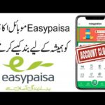 How to delete Easypaisa account?
