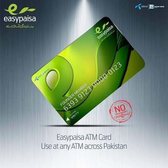 How to get Easypaisa Debit card