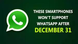 whatsapp to end support for old phones