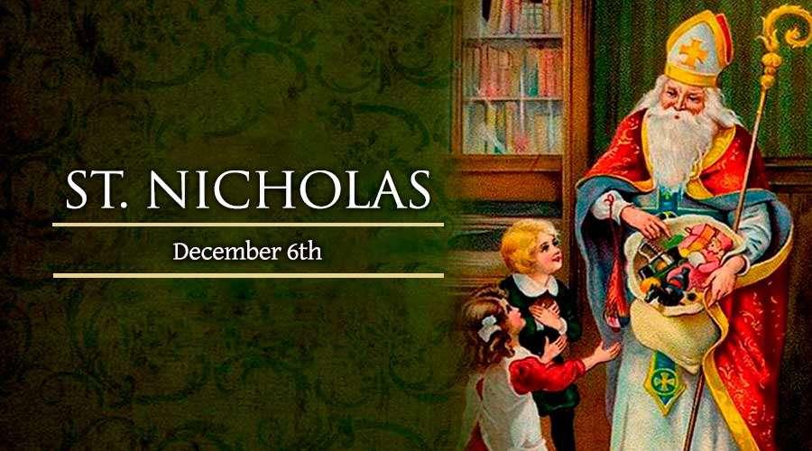 The history of Saint Nicholas
