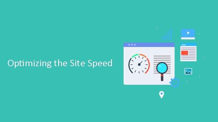 Optimizing the site speed