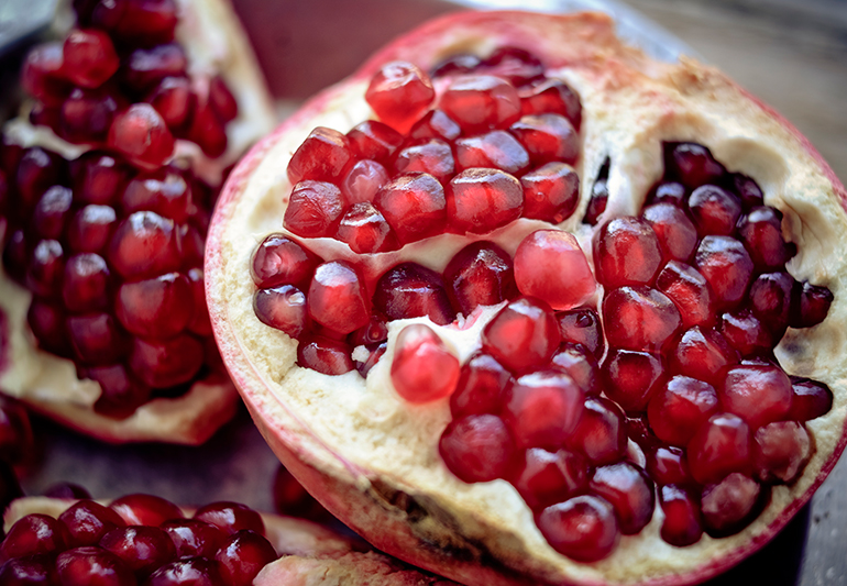 treatment for high bp pomegranate